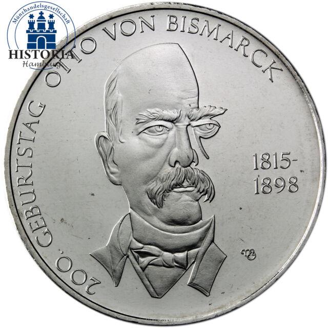 Deutschland 10 Euro Gedenkmünze 2015 bfr. Otto von Bismarck