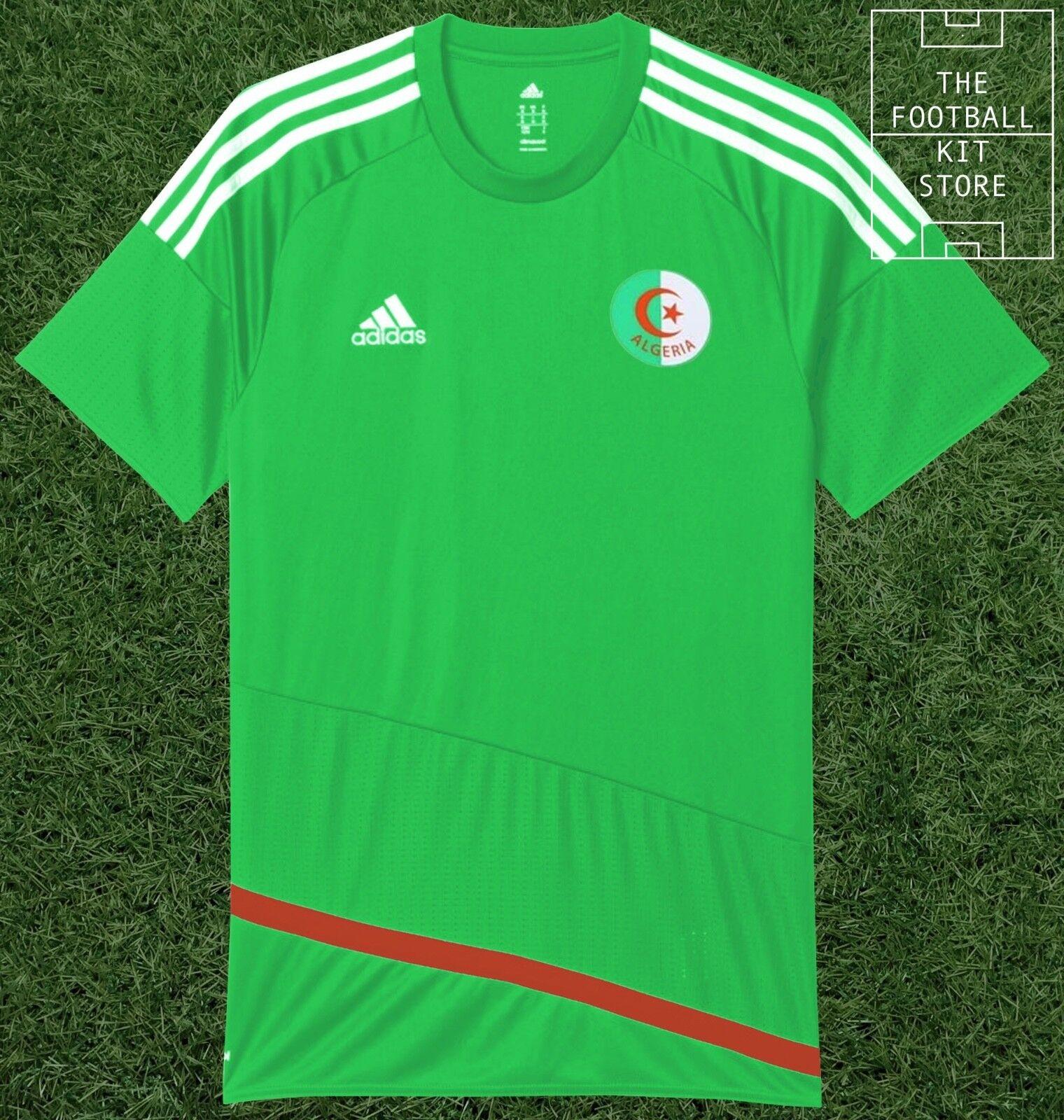 Algeria Away Shirt - Official adidas Football Jersey - Mens - All Sizes