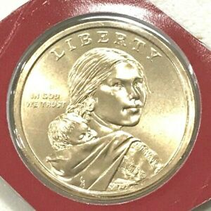 "2010 D Sacagawea Native American Dollar US Mint Coin /""Brilliant Uncirculated/"""