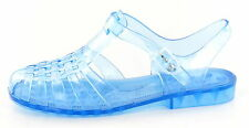 53501b1c9e34  SALE  Spot On F0714 Ladies Coloured PVC Retro Style Summer Jelly Sandals