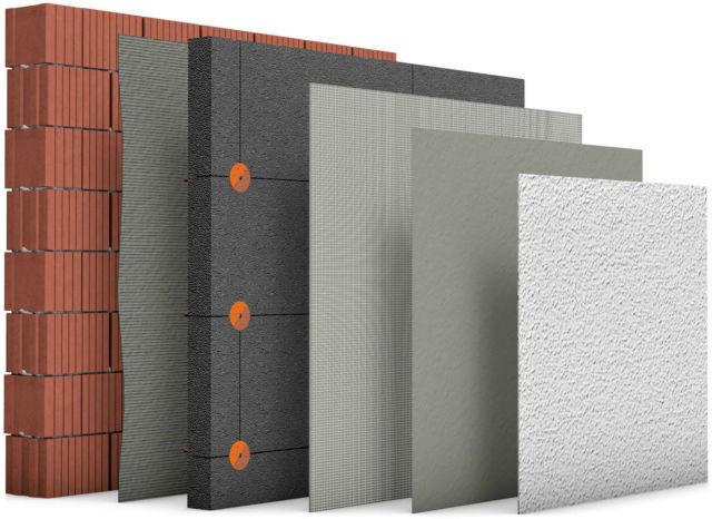 Neopor Komplettpaket 031 032 Wärmedämmung WDVS  Fassadendämmung Dämmung Syropor