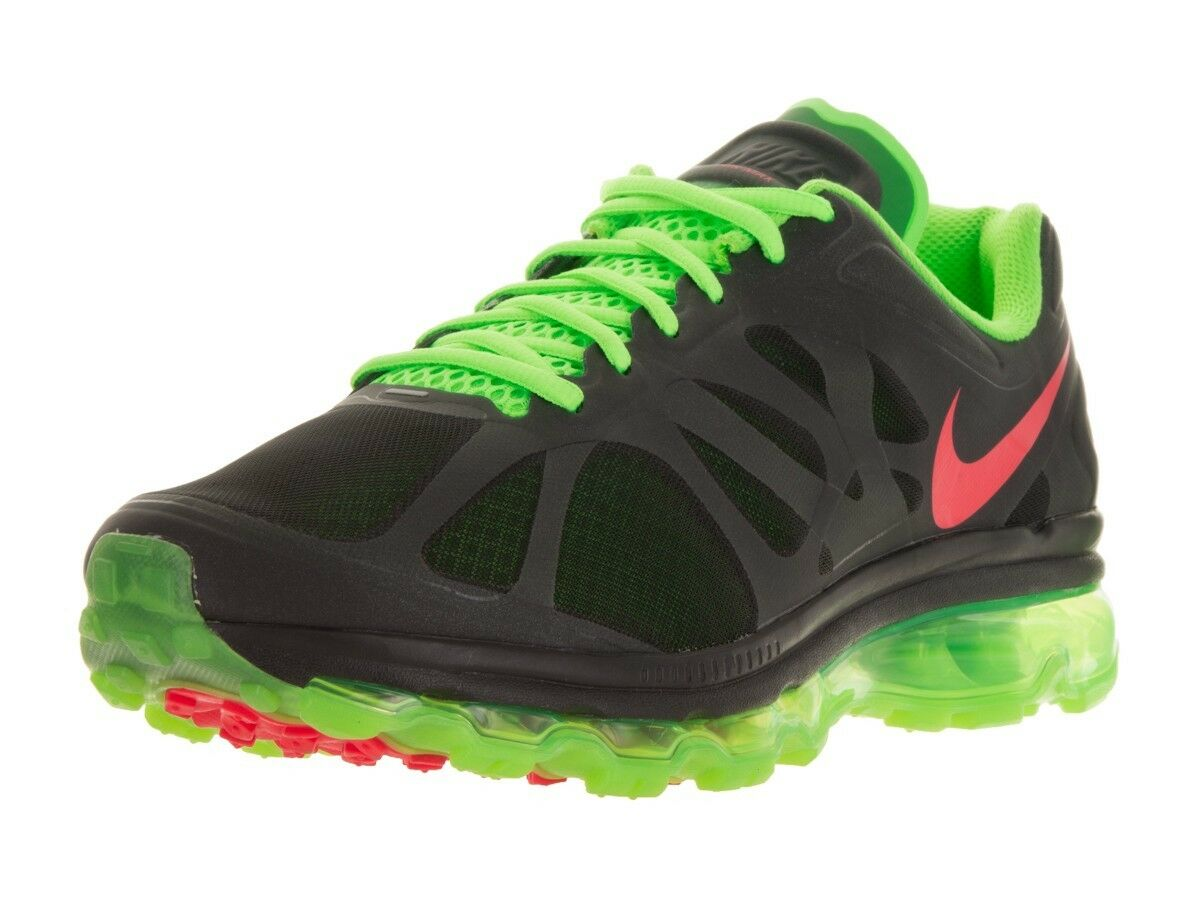 WMNS Nike Air Max+ 2012 Barely Volt Metallic Silver Grey 487679-063 Size 7 US