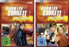 4 DVD * ALARM FÜR COBRA 11 - EINSATZ FÜR TEAM 2 - STAFFEL 1+2 IM SET # NEU OVP §