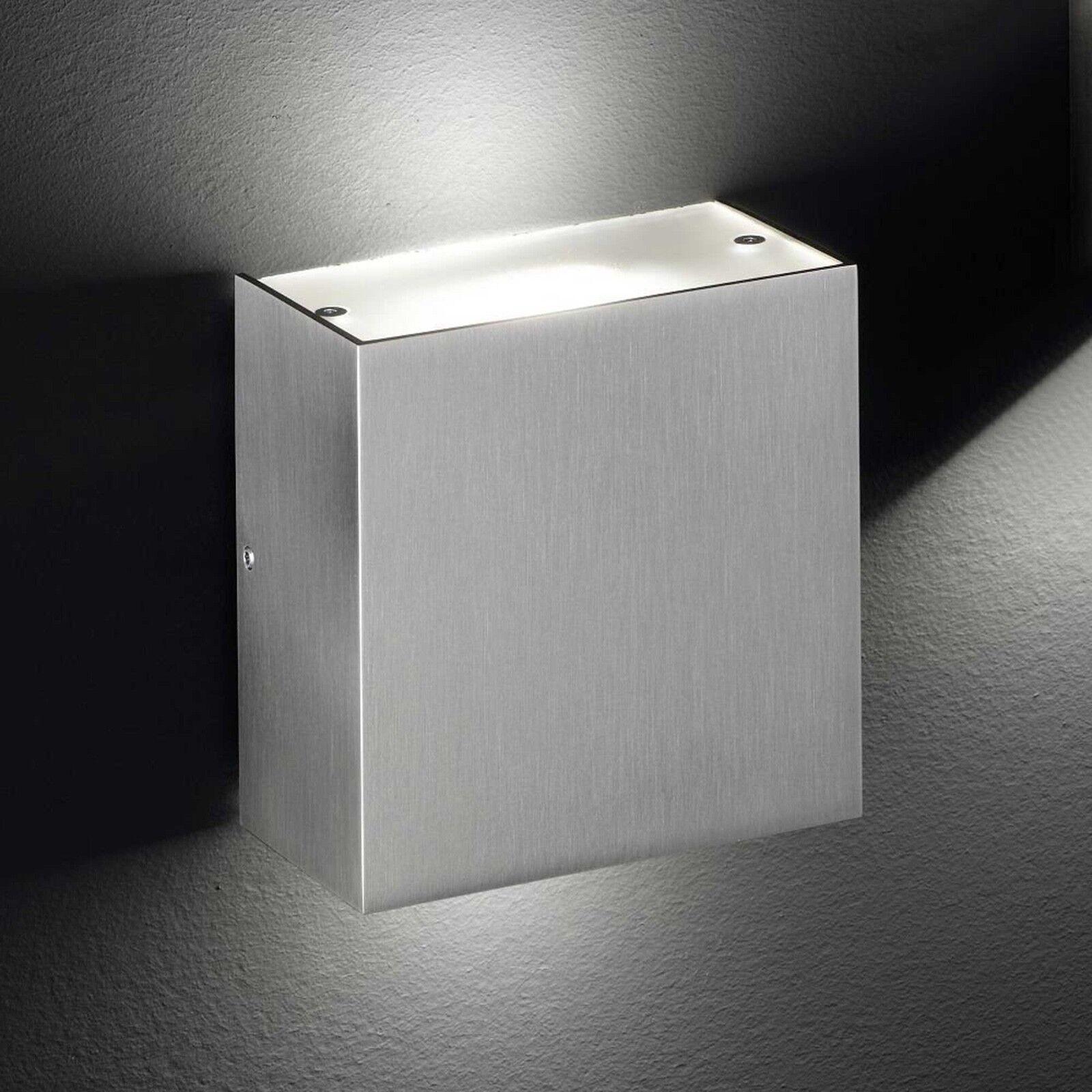 liquidazione fino al 70% Honsel LED LED LED Parete Lampada Lax 2-flg nichel vetro corridoio ingresso Cucina Lampada Ufficio  negozio online