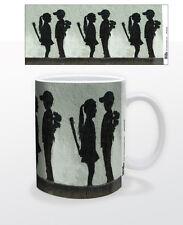 GIRL WITH CLUB 11 OZ COFFEE MUG TEA CUP DECOR ART BANKSY INTERIOR DESIGN SWEET!!