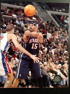 a8202fe0d5f Image is loading VINCE-CARTER-2004-8X10-ACTION-PHOTO-New-Jersey-