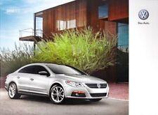 2010 10 VW CC oiginal  brochure MINT