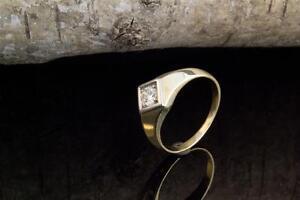Schmuck Solitär Brillant Ring mit Brillanten 585er Gelbgold 14 Karat