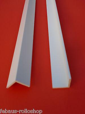 Abdeckleiste Winkel PVC  Profil  Kunststoffleiste 20x12 -100x60 Flachleiste