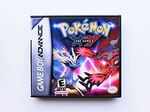 Pokemon-X-amp-Y-Game-Case-GBA-Gameboy-Advance-Anime-Fan-Hack-XY-USA-Seller
