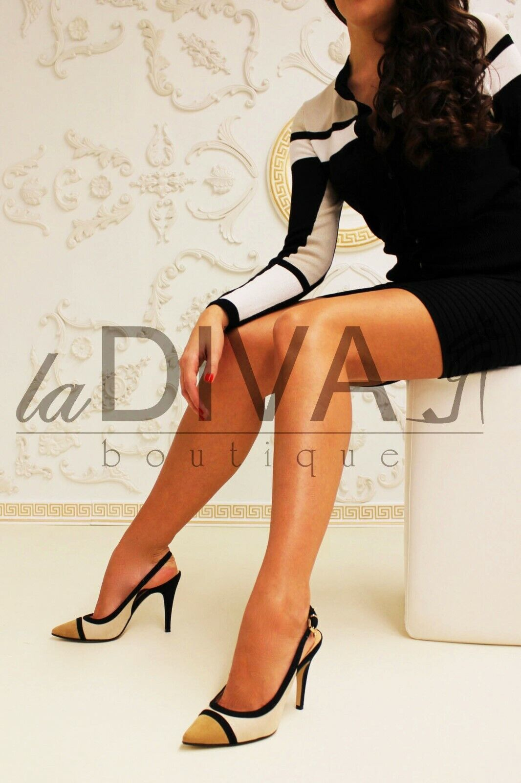 Nila Nila   Italia Business Pups Beige Natural nero 38 Leather% Sale% Ovp  ti aspetto