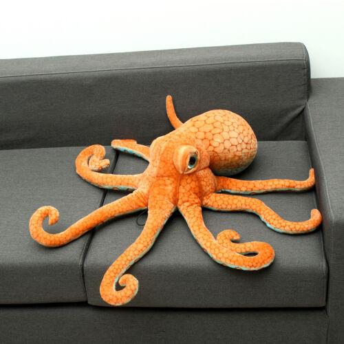 Riesenkrake Krake Plüschtier Octopus Tintenfisch Kuscheltier Stofftie Puppe 80cm