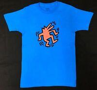 Keith Haring Dancing Dog Pop Art T-shirt 100% Authentic Rare