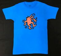 Keith Haring Dancing Dog Pop Art T-shirt 100% Authentic Rare