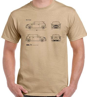 Mens Mini Hoodie Roadster Countryman Paceman John Cooper Works Blueprint