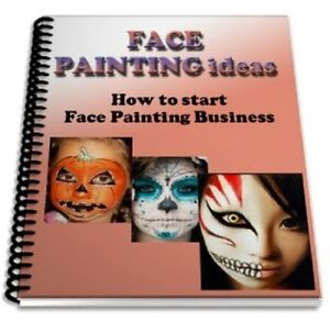 Face painting ideas book how to start face painting business for Face painting business