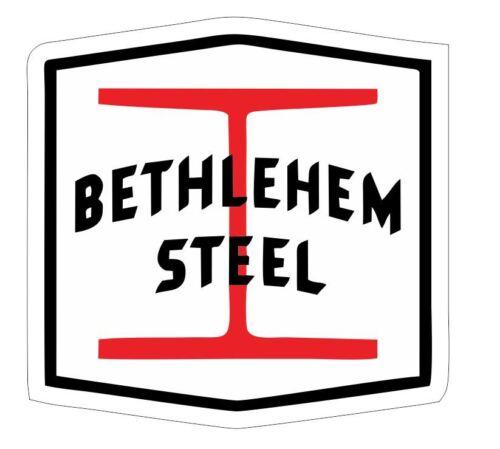 Bethlehem Steel Sticker Decal R7013 Railroad Railway Train Sign YOU CHOOSE SIZE