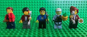 LEGO CITY CALENDARIO AVVENTO Duca stiglio Freya ROOKY Daisy 5 MINIFIGURES LOTTO 60268