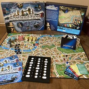 SCOTLAND YARD BY RAVENSBURGER RARE BOARD GAME COMPLETE Superb Condition