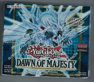 Konami Yu-Gi-Oh - Dawn of Majesty 1st Edition Box Factory Sealed