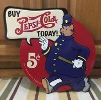 Pepsi Cola Cola Buy Metal Pete Vintage Style Coke Soda Decor Diner Police