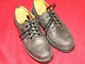 timberland black oxford shoes