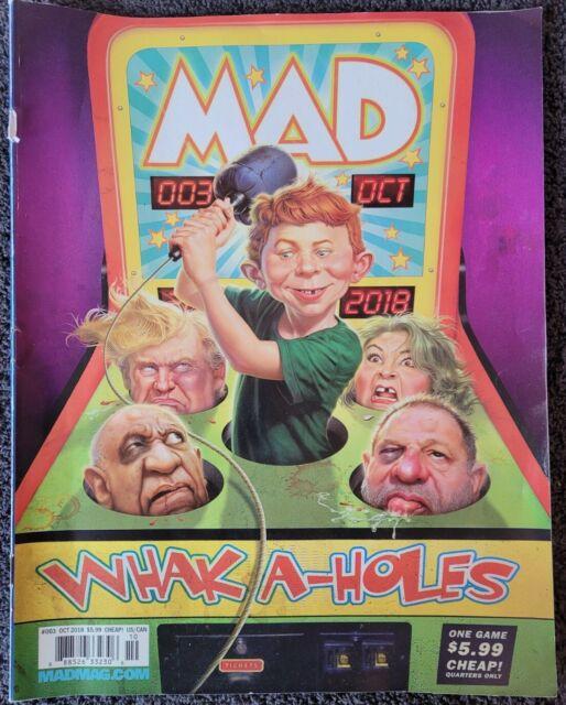 MAD Magazine WHAK-A-HOLES    No. 3 October 2018