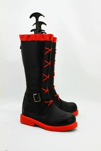 Anime RWBY Ruby Rose Cosplay Costume Shoes Boots {GH}