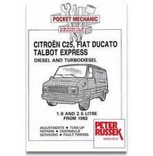 citroen c25 fiat ducato talbot express diesel workshop manual rh ebay co uk  Citroen Xsara