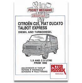 pocket mechanic car manual citroen c25 fiat ducato talbot express rh ebay co uk Citroen C35 citroen c25 service manual