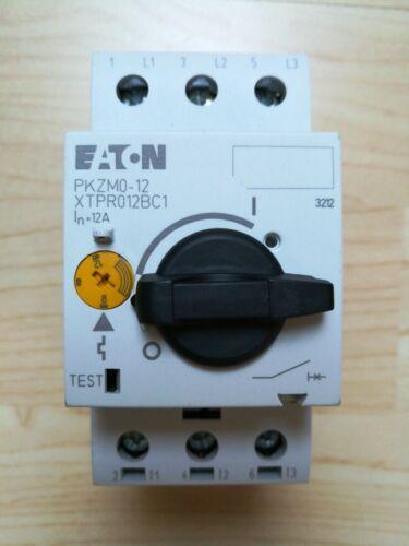 Eaton Motorschutzschalter 278486 Typ PKZM0-12