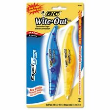 Bic Wite Out Exact Liner Correction Tape Pen 15 X 236 2pack Bicwoelp21