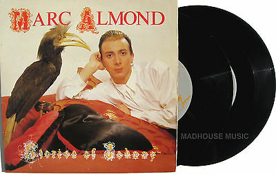 "SOFT CELL 7"" x 2 Marc ALMOND Stories Of Johnny DOUBLE PACK 4 Track Vinyl  1985"