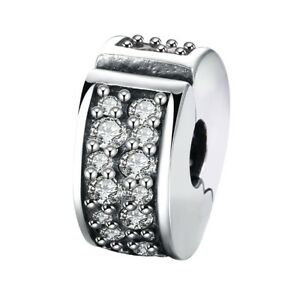 SHINING-ELEGANCE-clip-lock-925-Sterling-silver-hinged-stopper-bead-charm-CZ