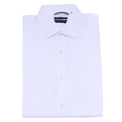 4822y Camicia Uomo White At.p.co Cotton Shirt Man Rapid Heat Dissipation
