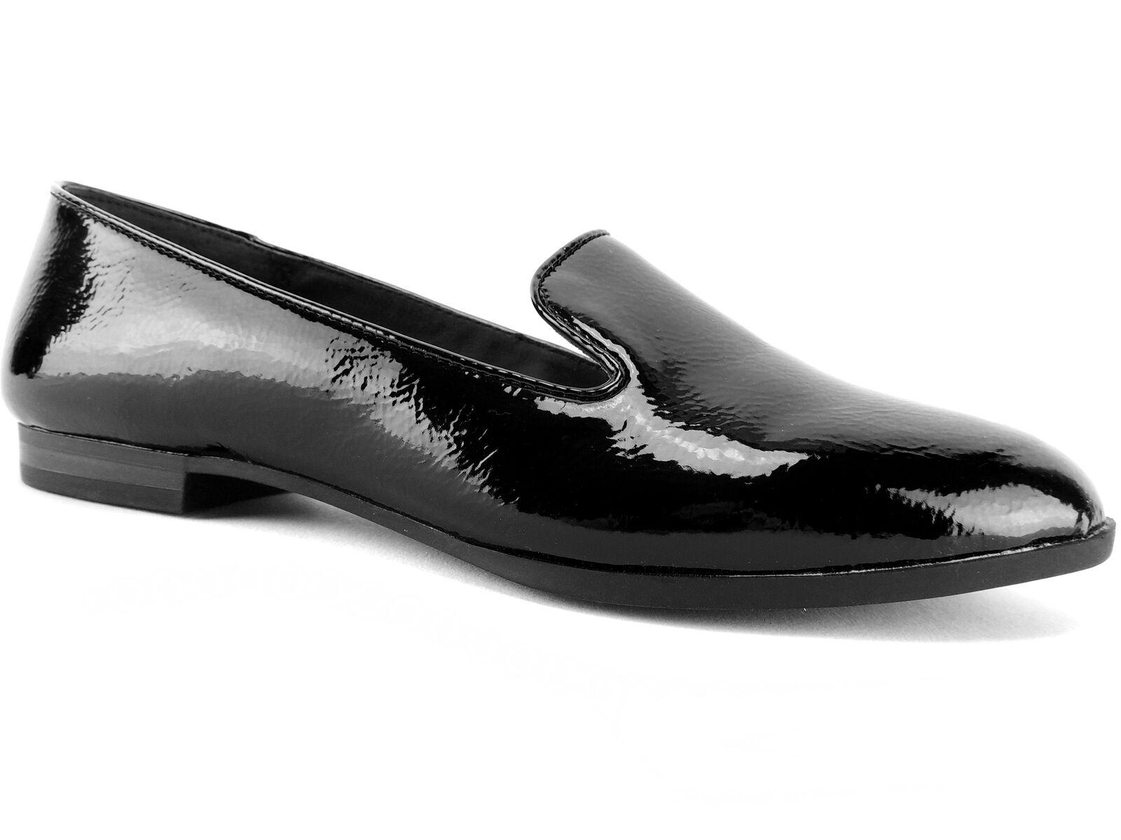 Alfani Women's Oceanaa Step 'N Flex Flats Black Patent Size 7.5 M