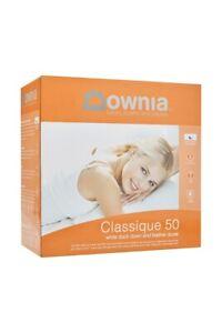 Downia-Classique-50-50-White-Duck-Down-amp-Feather-Quilt-Doona-Duvet