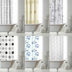 Image Is Loading CROYDEX BATHROOM BATH PEVA VINYL TEXTILE EYELET SHOWER