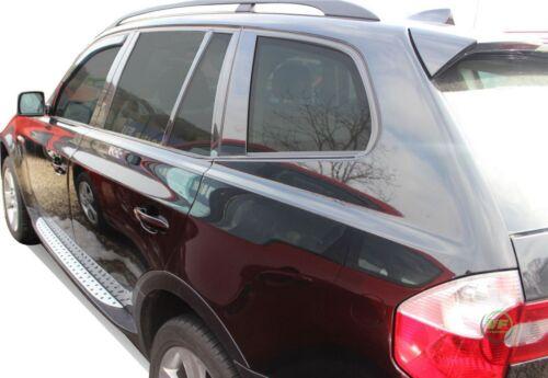 BMW X3 E83 2003-2010 juego de viento desviadores Heko tintadas 2pc frontal