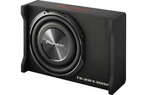 New-Pioneer-TS-SWX3002-1500-Watts-12-034-Loaded-Shallow-Truck-Subwoofer-Enclosure