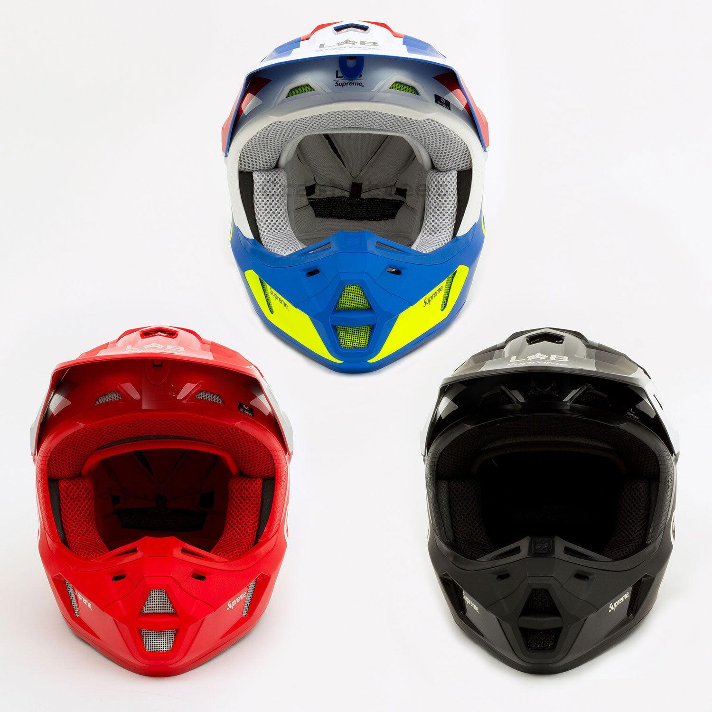 Supreme SS18 Fox Racing V2 Helmet  seam cap camp hat box hoody logo  honest service