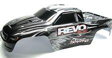 Nitro Revo 3.3 BODY (shell BLACK, WHITE, & SILVER, Decal, Cover  5309 Traxxas