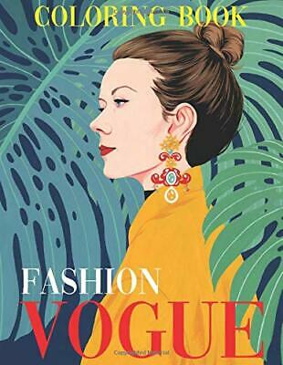 Vogue Fashion Coloring Book Paperback 2020 Ebay