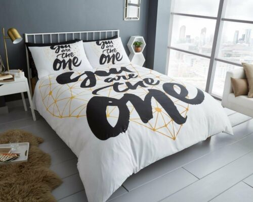 You Are The One Duvet Cover Quilt Cover Bedding Set Single Double King
