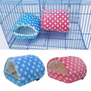 US-Hamster-Guinea-Pig-Squirrel-Hedgehog-Rabbit-Nest-Mice-Pet-Sleeping-Bed-House