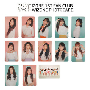 Details zu IZ*ONE IZONE - 1ST FAN CLUB WIZONE FAN MEETING GOODS - Photocard