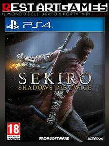 SEKIRO-PS4-PLAYSTATION-4-USATO-GARANTITO