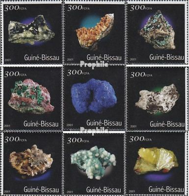 Guinea-bissau 1534-1542 Unmounted Mint Africa Never Hinged 2001 Minerals Nature & Plants