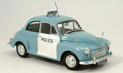 MORRIS MINOR ENGLAND POLICE MINICHAMPS 150091207 1 18 1 18 english