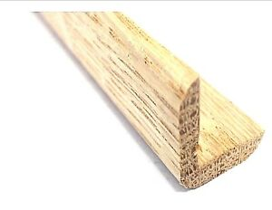 Solid White Oak Angle 20mm x 20mm Moulding 2.4 Metre Lengths